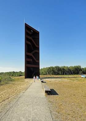 Sornoer Kanal Aussichtsturm Lausitzer Seenland Ausflugsziel
